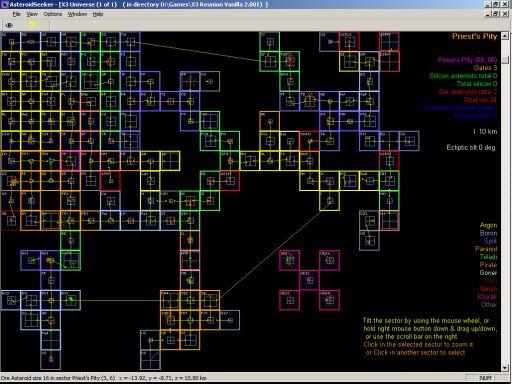 X3 Terran Conflict Map