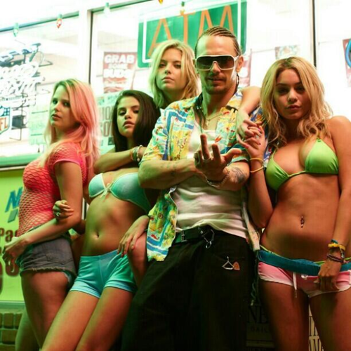 Selena gomez spring breakers handcuffs was and