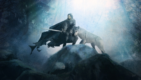 jon_snow_and_ghost_by_guillemhp-d4dbevl